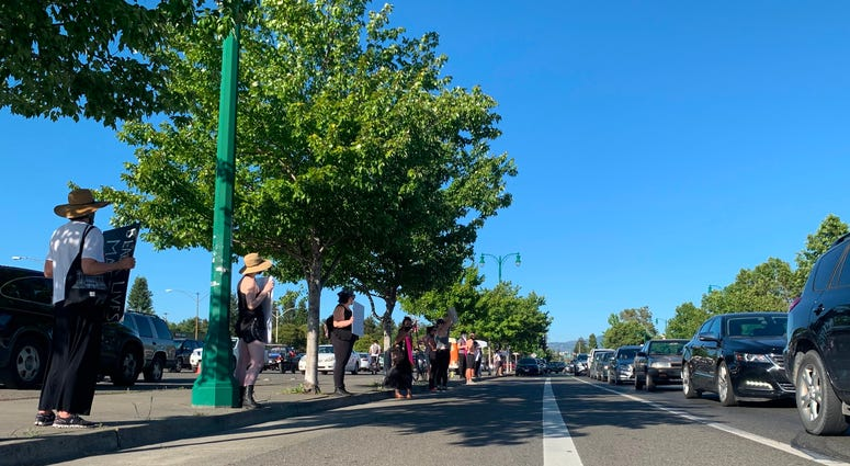 Santa Rosa Holds Vigil for Andy Lopez, Teen Killed in 2013, on June 2, 2020