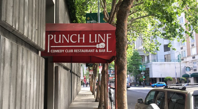 The Punch Line comedy club in downtown San Francisco has announced that it lost its lease.