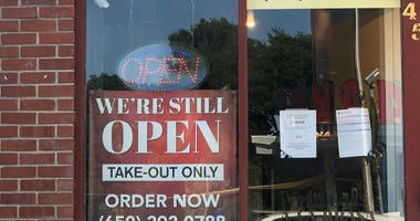 Restaurants in San Mateo ready for socially-distanced dining.