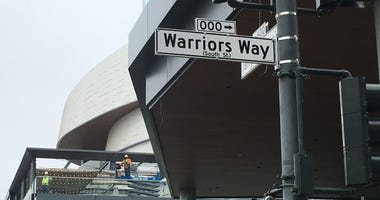 'Warriors Way' Leads Fans To New Basketball Arena