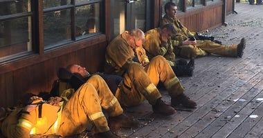 Sonoma County Fire Crews