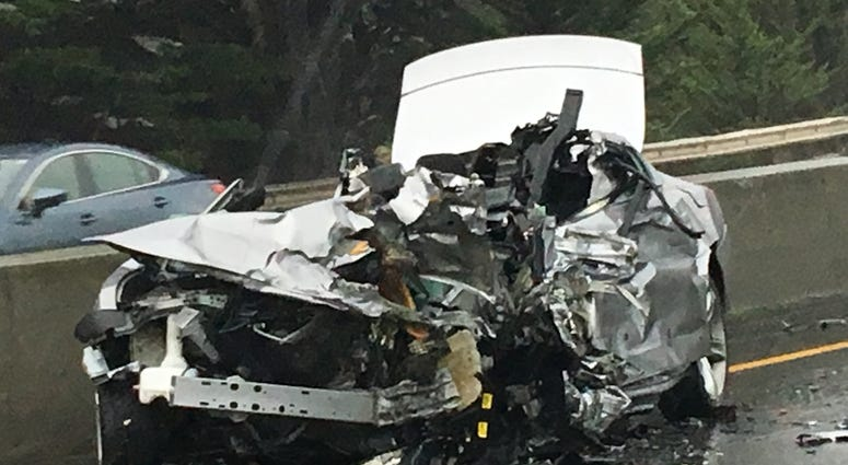 A driver traveling in the wrong direction on Highway 1 was involved in a deadly crash in Pacifica on Jan. 16, 2020.