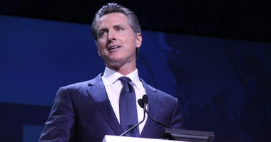 Gavin Newsom Speaks At the California Democratic Party Convention