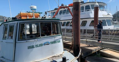 Angel Island-Tiburon Ferry Returns, July 2, 2020