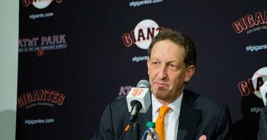 San Francisco Giants CEO Larry Baer