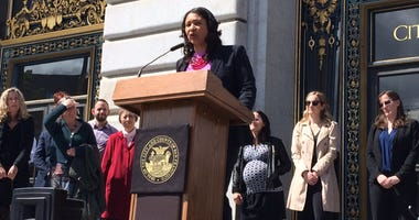 San Francisco Mayor London Breed on April 16, 2019.