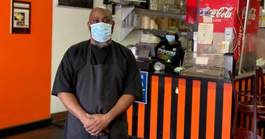 Marcel Banks, owner of Frisco Fried in Bayview