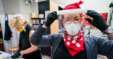 A volunteer group of 200 people works out of Alameda to create and distribute PPE worldwide.