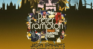 Peter Frampton at The Concord Pavilion