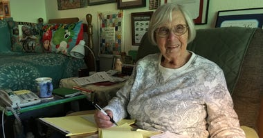 Phyllis McKee Gould of Marin County is on a quest to have Congress declare a national Rosie the Riveer day.