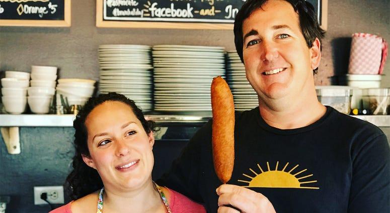Ryan & Samantha Ramey of Estero Café (Photo credit: Foodie Chap/Liam Mayclem)