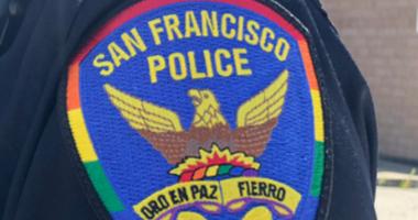 San Francisco Police Department Pride Patch June, 2019