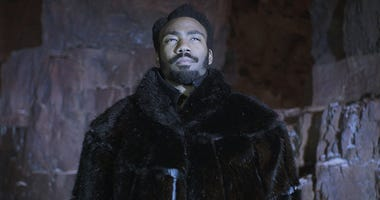 "Donald Glover as Lando Calrissian in ""Solo: A Star Wars Story"""