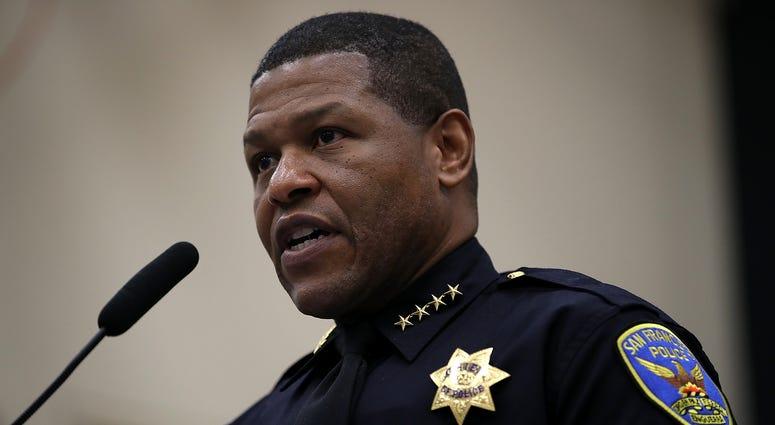 San Francisco Police Chief Bill Scott.