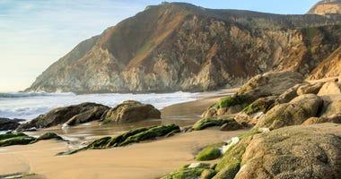 Gray Whale Cove State Beach, Half Moon Bay, San Mateo County