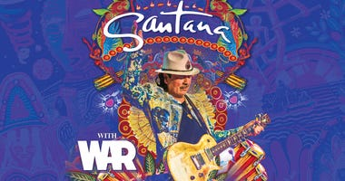 Santana at The Chase Center San Francisco