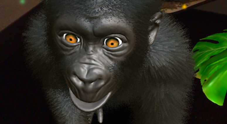 Krikey is an app that builds empathy for gorillas through augmented reality.