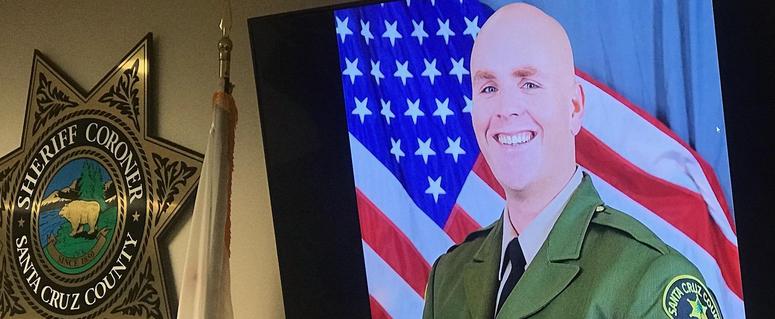 Santa Cruz County Sheriff's Deputy Damon Gutzwiller was killed in the shooting Saturday afternoon in Ben Lomond.