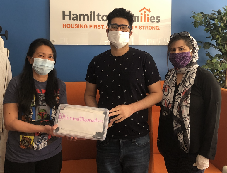 Farhan Himmati has created his own non-profit to help the homeless community during the coronavirus pandemic.