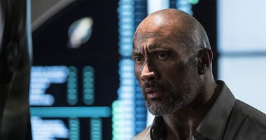 Dwayne Johnson in 'Skyscraper'