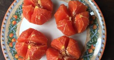 Narsai David shares a recipe for spiced oranges.