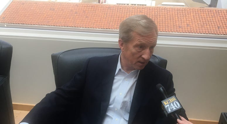 Tom Steyer, a billionaire funding efforts to impeach President Trump, says that Democrats are mistaken to downplay such calls.
