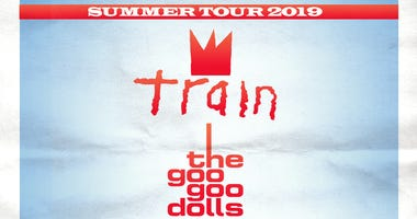 Train and Goo Goo Dolls at Shoreline Amphitheatre