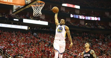 Golden State Warriors forward Andre Iguodala