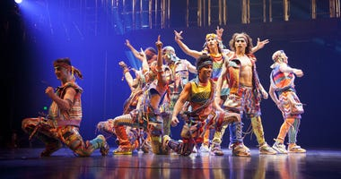 Freespirits from the Cirque du Soleil show VOLTA.
