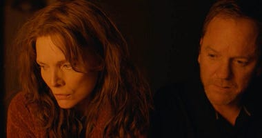 "Michelle Pfeiffer and Kiefer Sutherland in ""Where Is Kyra?"""