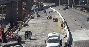 Major roadwork project gets underway on Highway 101 in San Francisco