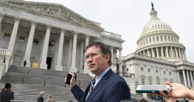 GOP's Massie outrages House, Trump by seeking to stall vote