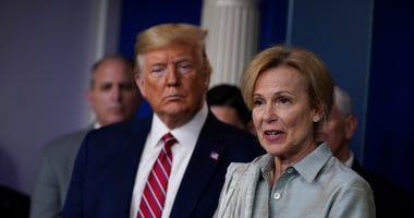 Virus coordinator Birx is Trump's data-whisperer