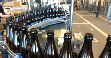 Pliny the Younger is bottled by Russian River Brewing