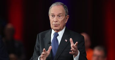 Democratic presidential candidate and former New York City Major Mike Bloomberg campaigns ahead of Super Tuesday