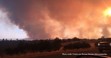 Carr Fire Shasta County