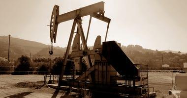 California oil well