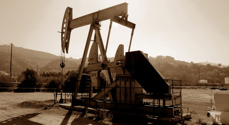 California oil well