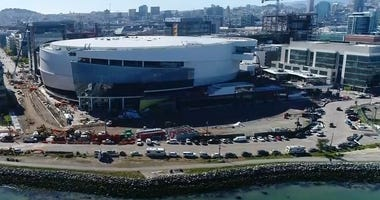 Chase Center, the Warriors new home in San Francisco