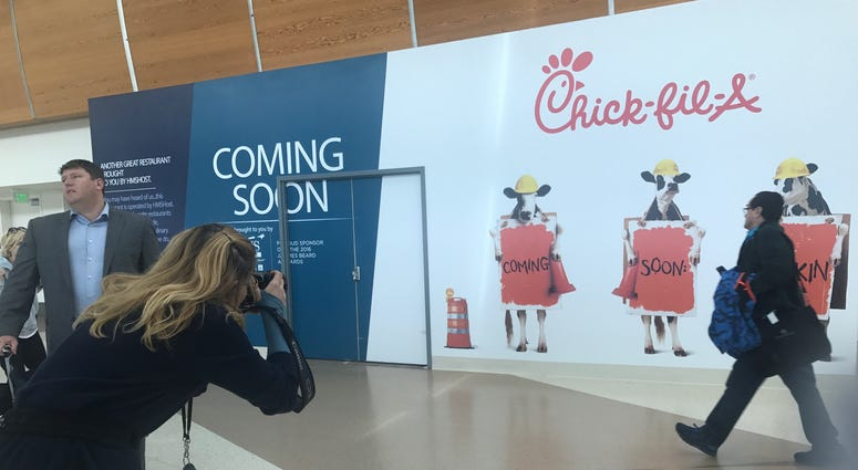 The planned opening of a Chick-fil-A in Mineta San Jose International Airport has unleashed complaints about the fast-food chain's opposition to same-sex marriage and support for anti-LGBTQ causes.