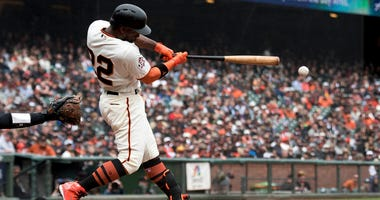 San Francisco Giants center fielder Andrew McCutchen