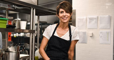 Chef Dominique Crenn closes french bistro restaurant to the public due to COVID, will prepare foods for people in need instead