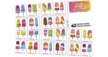 Frozen Treats Stamps