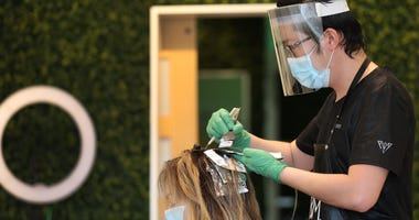 With hair salons opening across most of the state, many in the Bay Area will still have to wait