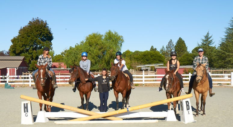The Pony Express organization in Santa Rosa helps young people deal with anxiety, depression and other mental health issues.
