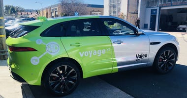 Valeo is developing technology for driver-less cars in San Mateo county.