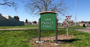 San Pablo Park in Berkeley.