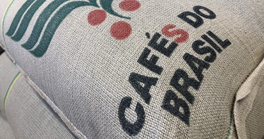Coffee beans from Brazil are expected to be more bitter this year.