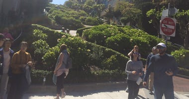 State lawmakers have approved a fee that would impose a fee to drive on Lombard Street in San Francisco.