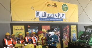 A Legoland outpost will be built to open in the Great Mall in Milpitas.
